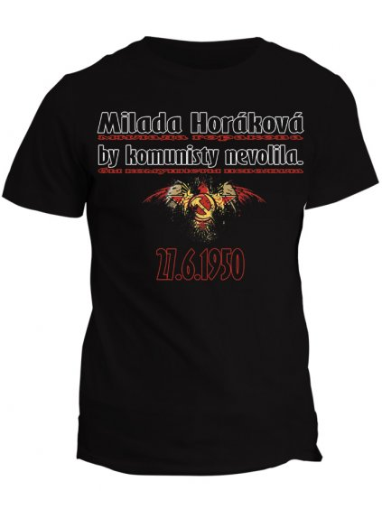 Tričko s potiskem Milada Horáková