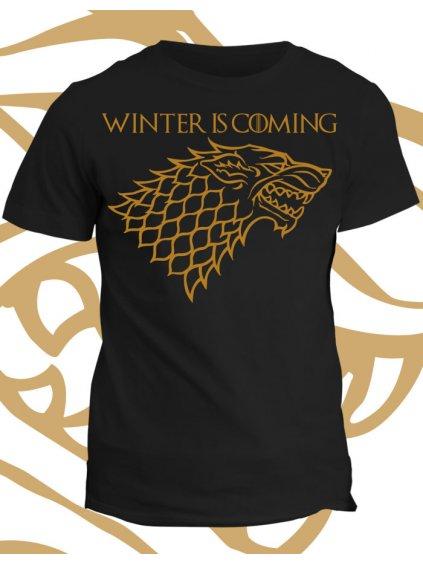 Tričko game of thrones Winter is Coming
