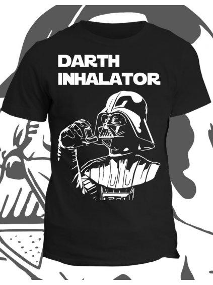 Tričko s potiskem Darth Inhalator