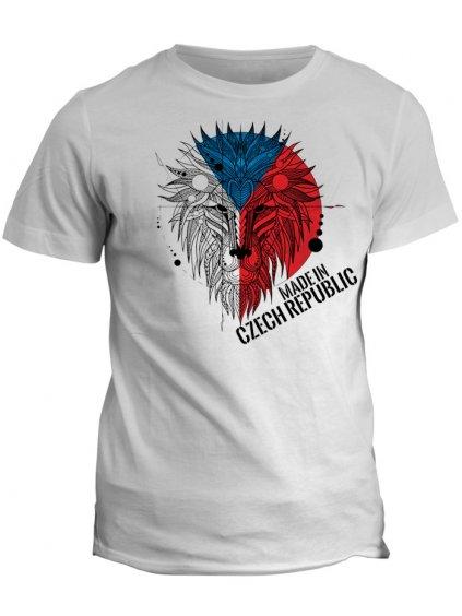 Tričko s potiskem Geometrical Lion