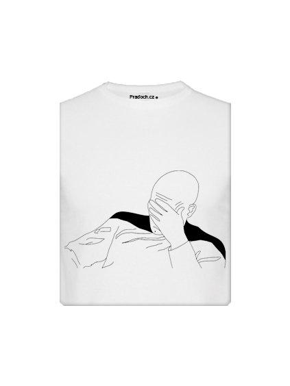 Tričko s potiskem MEME Facepalm