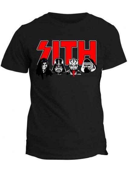 Tričko s potiskem Star Wars Sith Lords