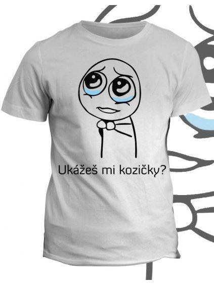 Tričko s potiskem Kozičky