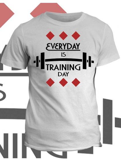 Tričko s potiskem Training day
