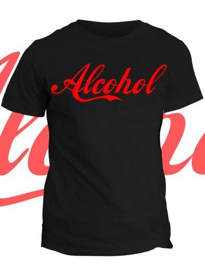 Tričko s potiskem AlCoHol