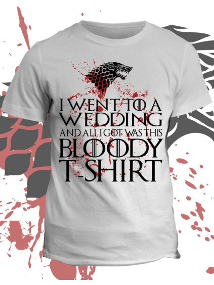 Tričko game of thrones Bloody wedding