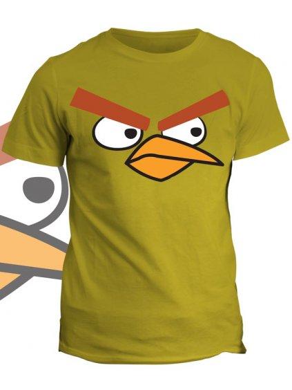 Tričko s potiskem Calm Bird