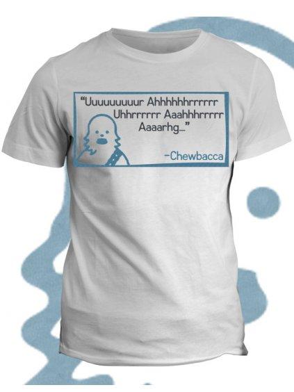 Tričko s potiskem Chewbacca