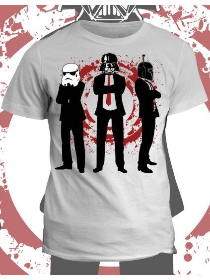 Tričko s potiskem Star Wars Badass team