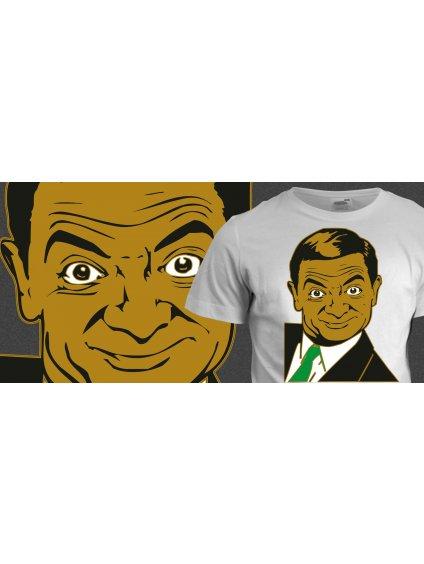 Tričko s potiskem Mr. Bean