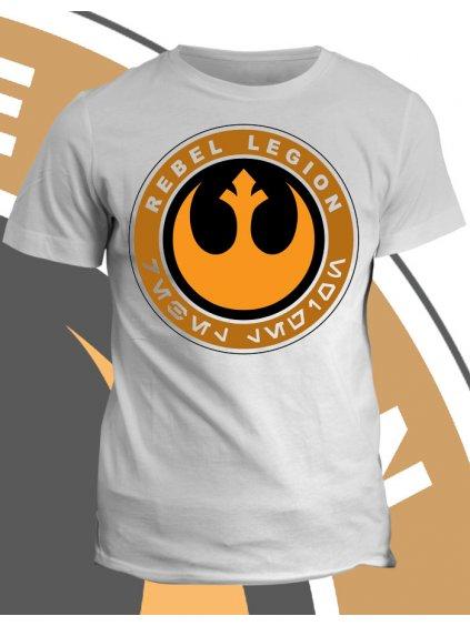 Tričko s potiskem Rebel Legion