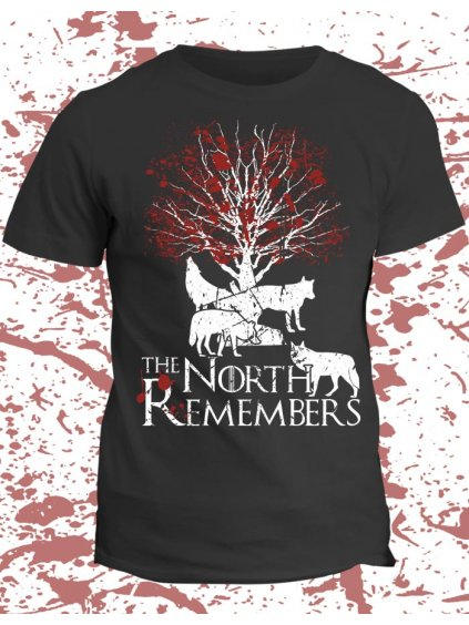 Tričko Game of Thrones - North remembers