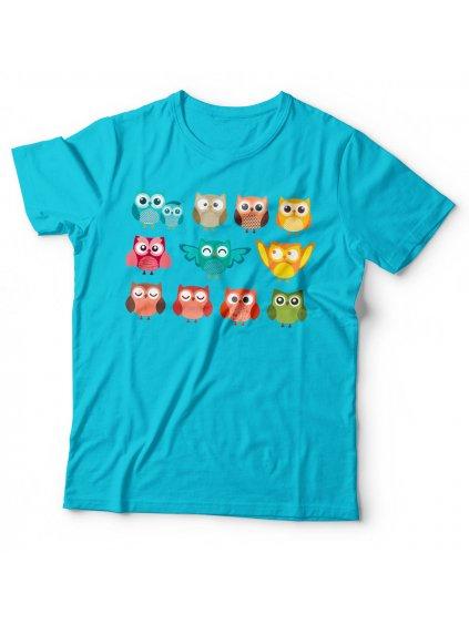 Dětské tričko Sovičky