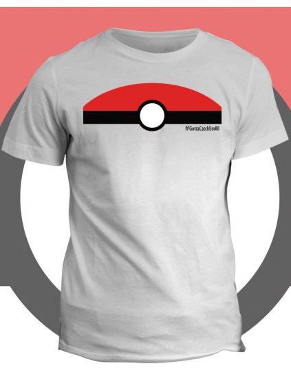 Pokémon tričko Gotta catch em all