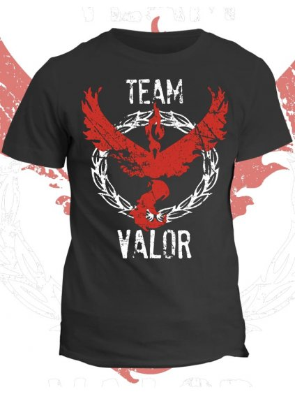 Pokémon tričko Team Valor