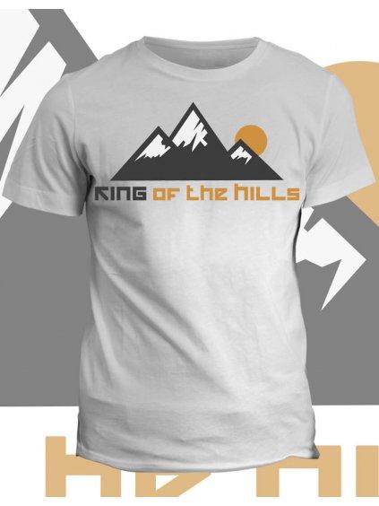 Tričko s potiskem King of the hills