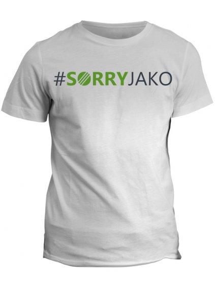 Tričko s potiskem Babiš SorryJako