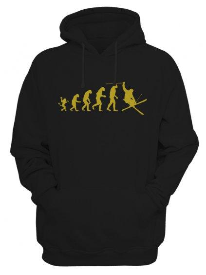 Pánská mikina Evolution of skier