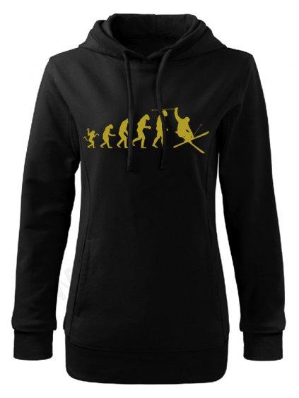 Dámská mikina Evolution of skier