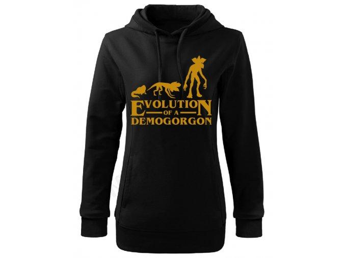 Dámská mikina Stranger Things Evolution of Demogorgon