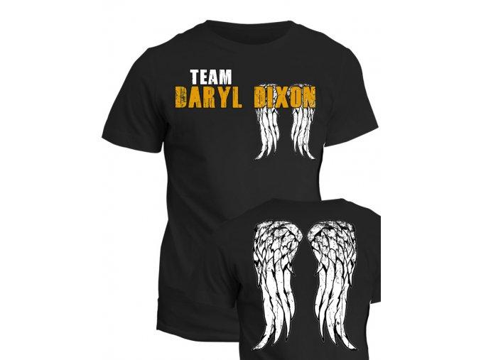 Tričko The Walking Dead - Team Daryl Dixon