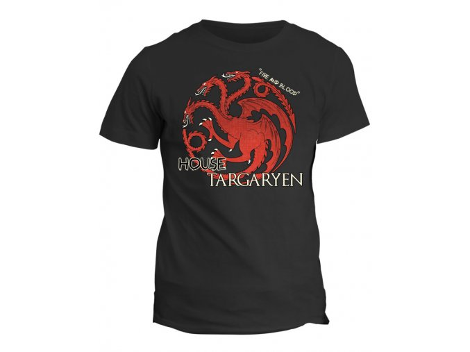 Tričko Game of Thrones - House Targaryen