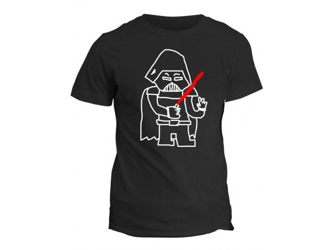 Tričko s potiskem Star Wars Dard Vuder