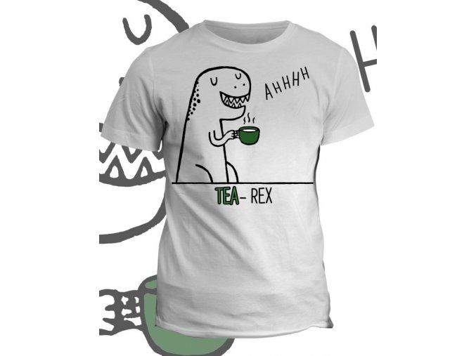 Tričko s potiskem Tea Rex