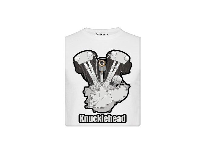 Tričko s potiskem Knucklehead