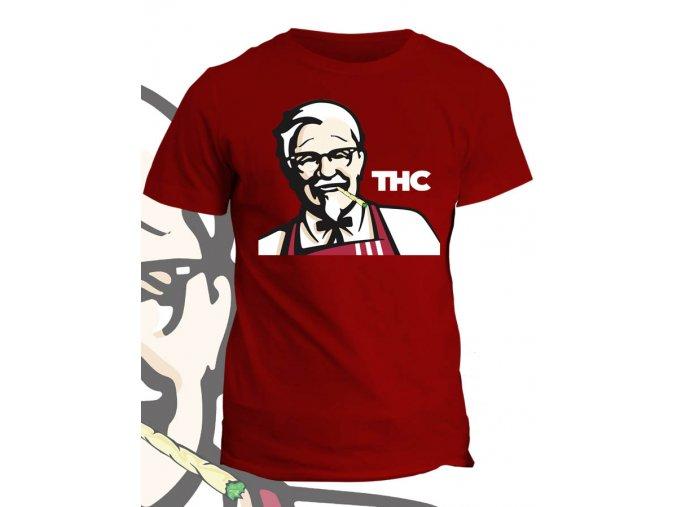 Tričko s potiskem THC