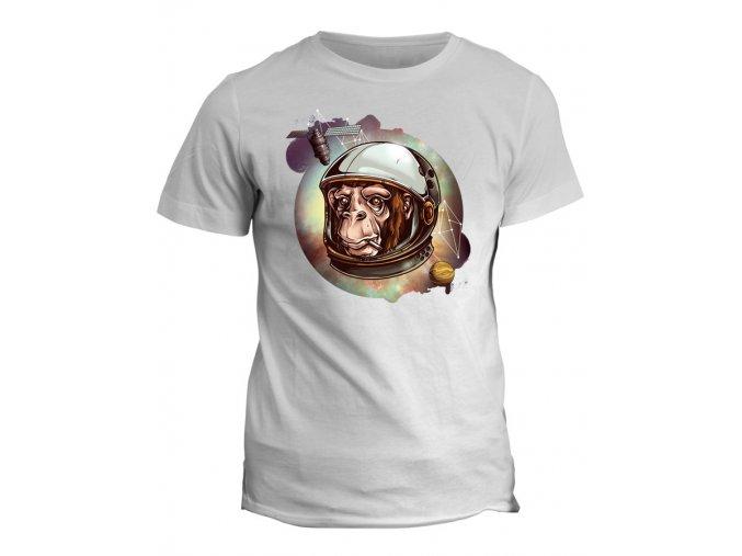 Tričko s potiskem Space Monkey