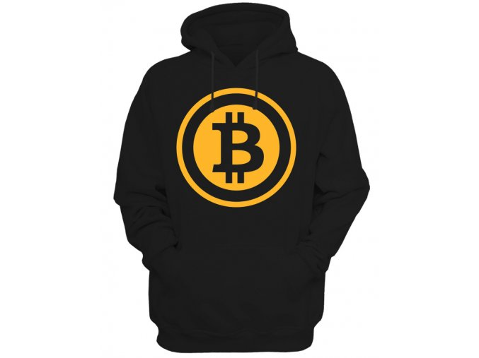 Pánská mikina Bitcoin Gold Logo