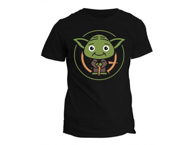 Tričko s potiskem Star Wars Roztomilý Yoda