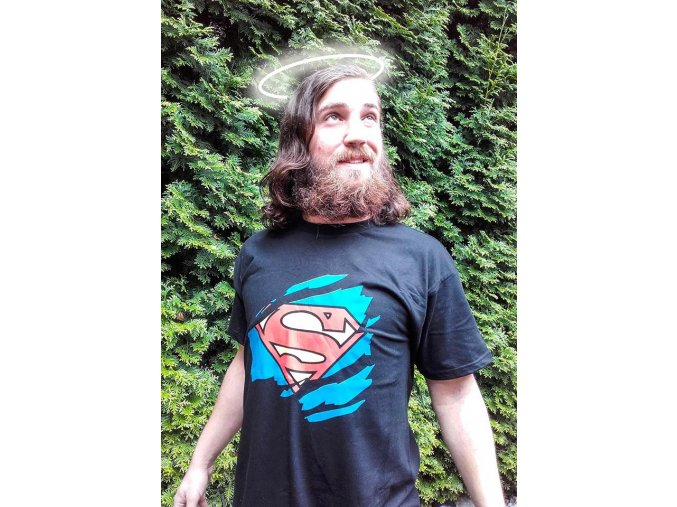 Tričko s potiskem Superman