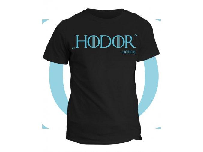 Tričko game of thrones HODOR