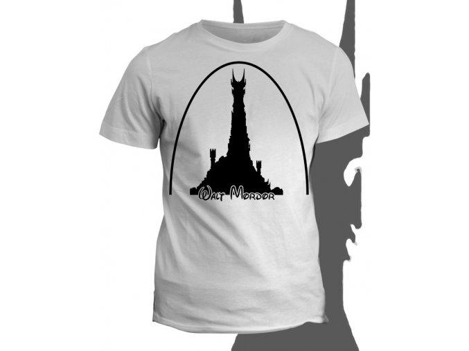 Tričko s potiskem Walt Mordor