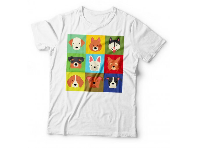 Dětské tričko Pejsci