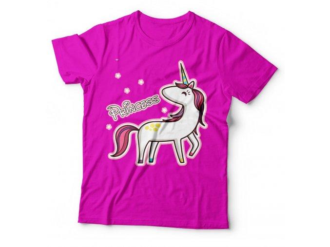 Dětské tričko Princezna