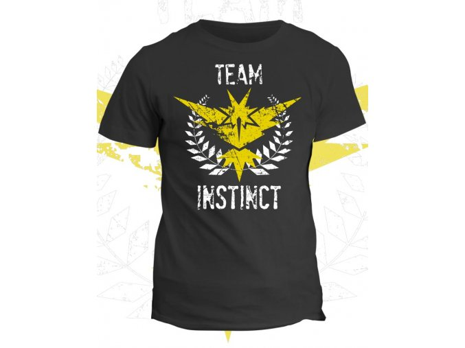 Pokémon tričko Team Instinct