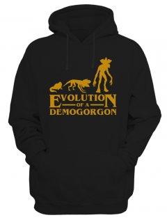 Pánská mikina Stranger Things Evolution of Demogorgon