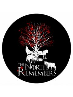 Samolepka GOT North remembers
