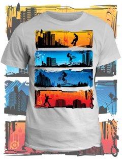 Tričko s potiskem Urban style