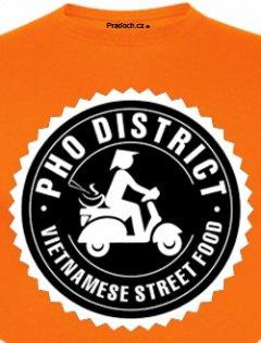 Tričko s potiskem Vietnam Food