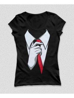 Tričko s potiskem Suit up