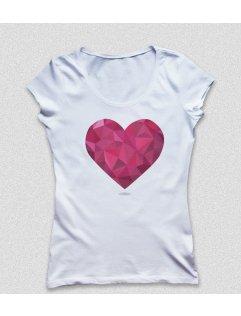 Tričko s potiskem Srdce