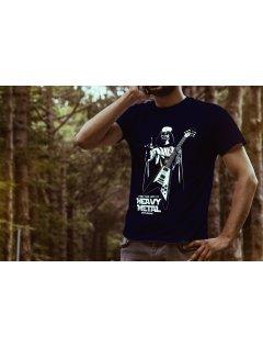 Tričko s potiskem  Darth Metal