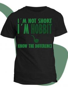 Tričko s potiskem I am Hobbit