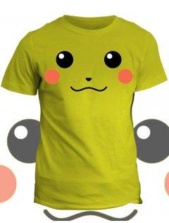 Tričko s potiskem Pika Pikachu