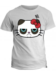 Tričko s potiskem Grumpy Cat