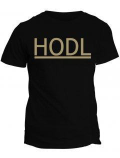 Tričko s potiskem Bitcoin Hodl
